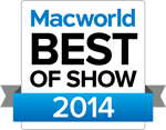 Best of MacWorld Award 2014